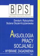 Definicja Aksjologia pracy socjalnej słownik