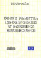 Definicja Dobra praktyka laboratoryjna słownik