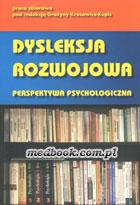 Definicja Dysleksja rozwojowa słownik