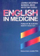 Definicja English in medicine słownik