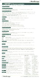 Definicja MedŚciąga - wywiad i badanie słownik