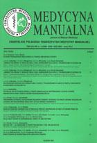 Definicja Medycyna manualna nr 2004/3-4 słownik