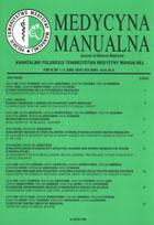 Definicja Medycyna manualna nr 2005/1-2 słownik