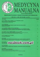 Definicja Medycyna manualna nr 2005/3-4 słownik