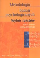 Metodologia badań psychologicznych - wybór tekstów