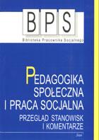 Definicja Pedagogika społeczna i praca słownik