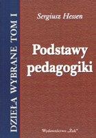 Definicja Podstawy pedagogiki słownik