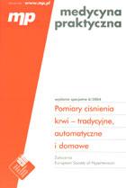 Definicja Pomiary ciśnienia krwi słownik