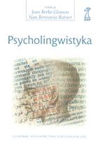 Definicja Psycholingwistyka słownik