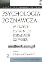 Definicja Psychologia poznawcza w słownik