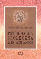 Definicja Psychologia społeczna w słownik