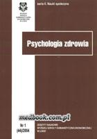 Definicja Psychologia zdrowia słownik