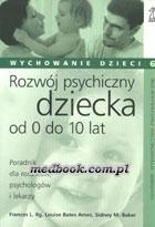 Definicja Rozwój psychiczny dziecka od słownik