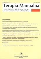 Definicja Terapia manualna w modelu słownik
