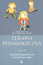Definicja Terapia pedagogiczna tom 2 słownik