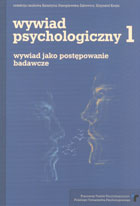 Definicja Wywiad psychologiczny tom 1 słownik