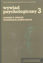 Definicja Wywiad psychologiczny tom 3 słownik